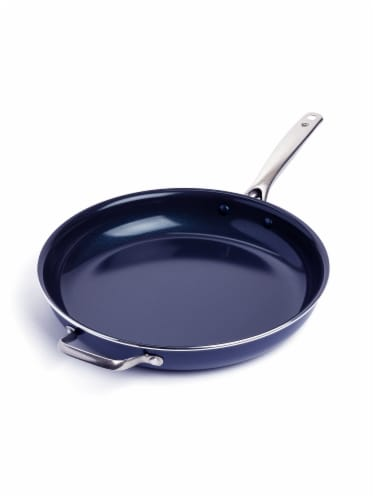 Blue Diamond 14 in Frying Pan Perspective: front