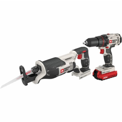 Porter Cable 20v Drill Saw Kit PCCK603L2 Perspective: front