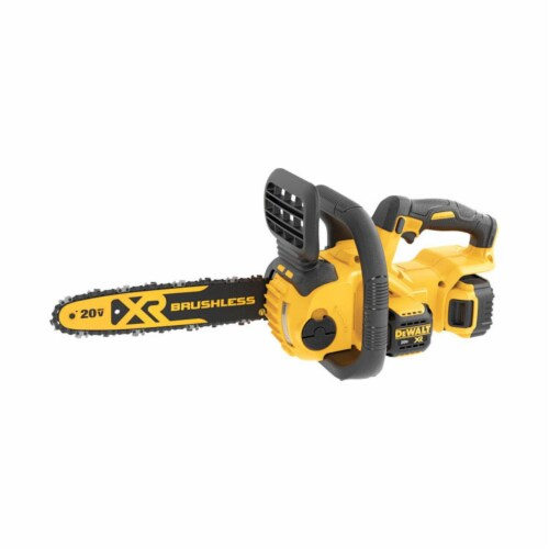 Dewalt 7605686 12 in. 20V Battery Powered Chainsaw Perspective: front