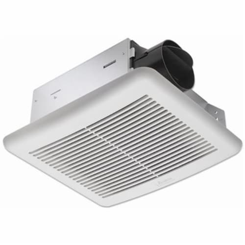 Delta BreezSlim 70 CFM 2.0 Sones 120V Exhaust Bath Fan with Humidity Sensor 70HS Perspective: front