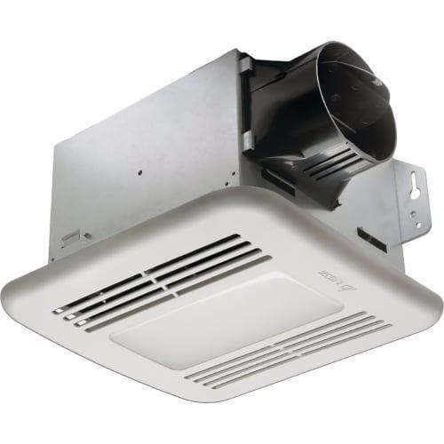 Delta 100cfm .5sn Led Bath Fan 100LED Perspective: front