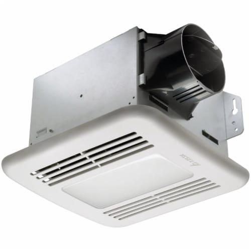 Delta BreezIntegrity 50 CFM 0.7 Sones Bath Exhaust Fan with LED Light 50F-LED Perspective: front