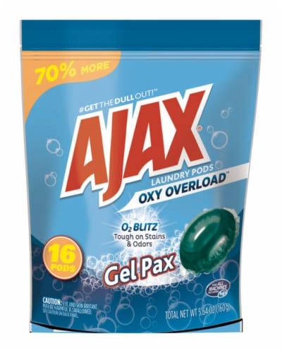 Ajax  Fresh Linen Scent Laundry Detergent  Pod  14.1 oz. - Case Of: 1; Perspective: front