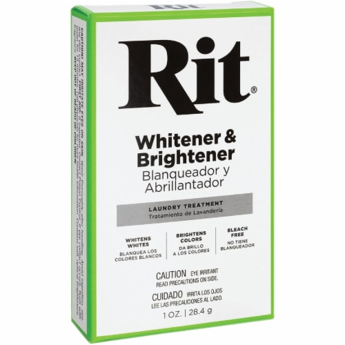 Rit 1 Oz. Fabric Whitener & Brightener Laundry Booster 83500 Perspective: front