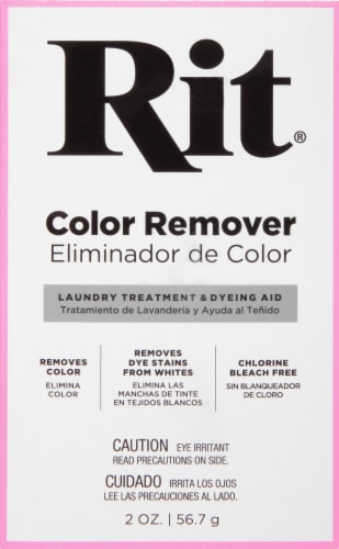 Rit Color Remover Laundry Treatment Perspective: front