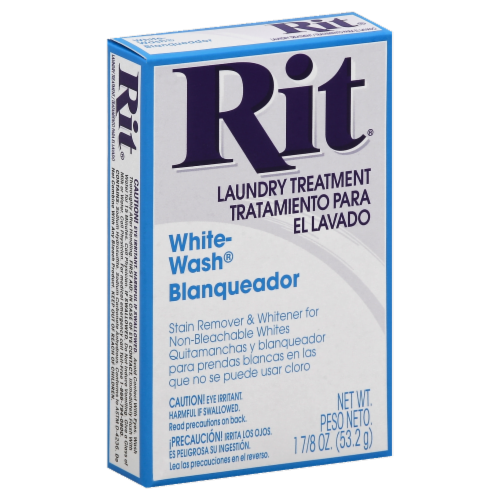 Rit® White-Wash Laundry Treatment Perspective: front