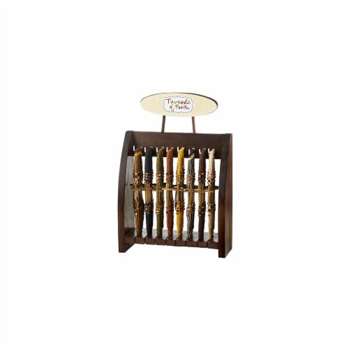 Christian Brands YS489 Side Cross Bracelet Display  Thread of Faith Perspective: front