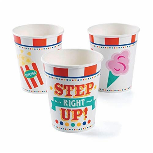 Fun Express 301270 Carnival Cup, 9 oz - 8 Piece Perspective: front