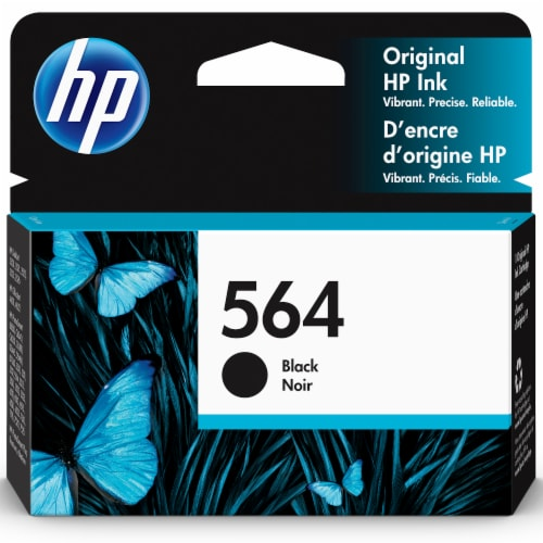 HP 564XL High Yield Original Ink Cartridge - Black Perspective: front