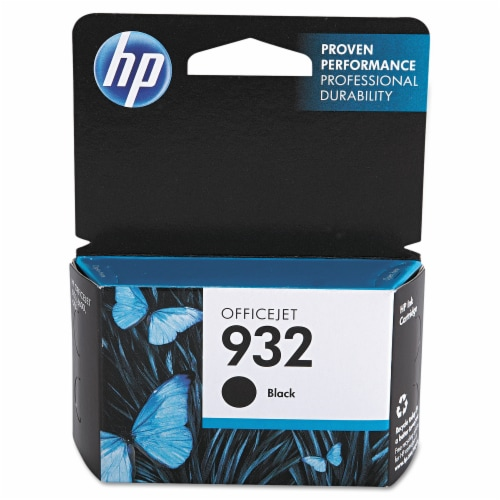 HP 932 Original Ink Cartridge - Black Perspective: front