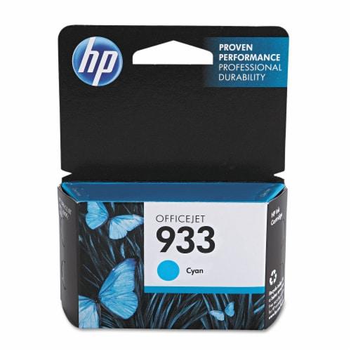 HP 933 Original Ink Cartridge - Cyan Perspective: front