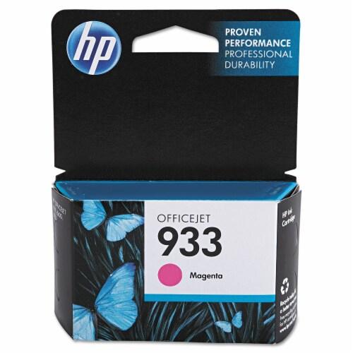 HP 933 Ink Cartridge - Magenta Perspective: front