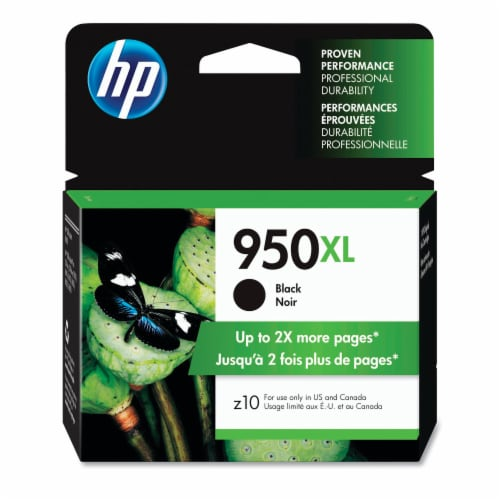 HP 950XL Ink Cartridge - Black Perspective: front