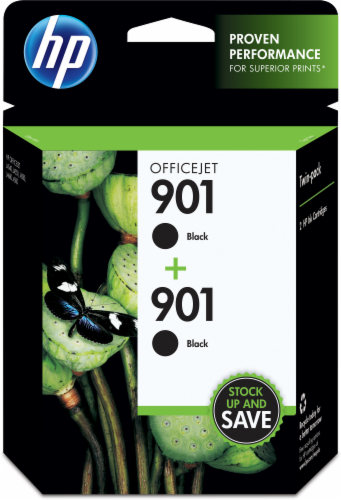 HP 901 Original Ink Cartridge - Black Perspective: front