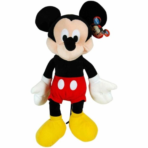 "Disney Mickey Plush (15"") Perspective: front"