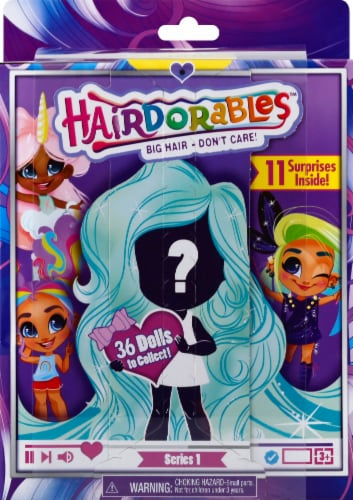 Hairdorables Dolls Series 1 Blind Bag Perspective: front