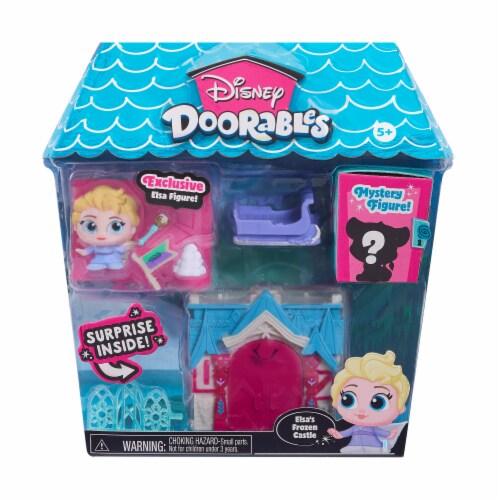 Disney Doorables Elsa's Frozen Castle Mini Playset Perspective: front
