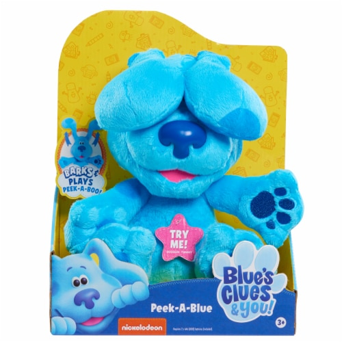 Just Play Blue's Clues & You Peek-a-Blue Plush Perspective: front