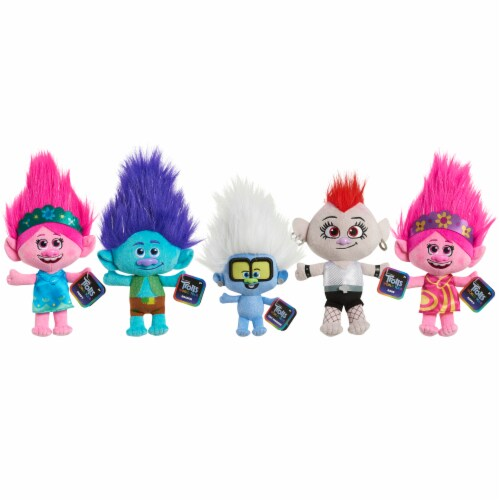 Just Play Trolls World Tour Small Plush - Assorted Perspective: front