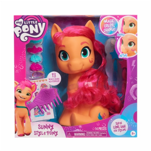 My Little Pony Sunny Style Pony Perspective: front
