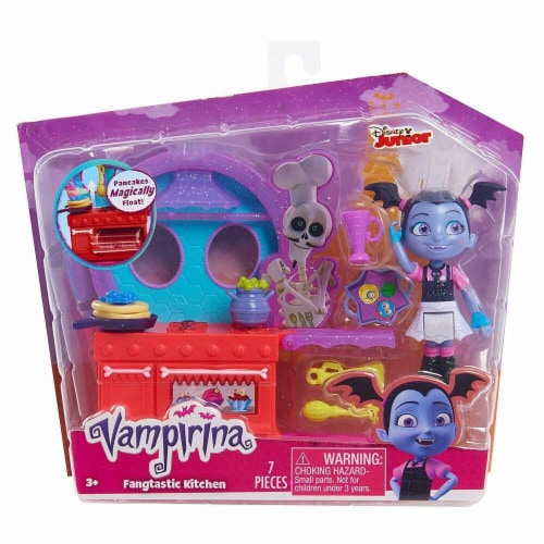 Vampirina Disney Spooktacular Vanity Kitchen Playset Perspective: front