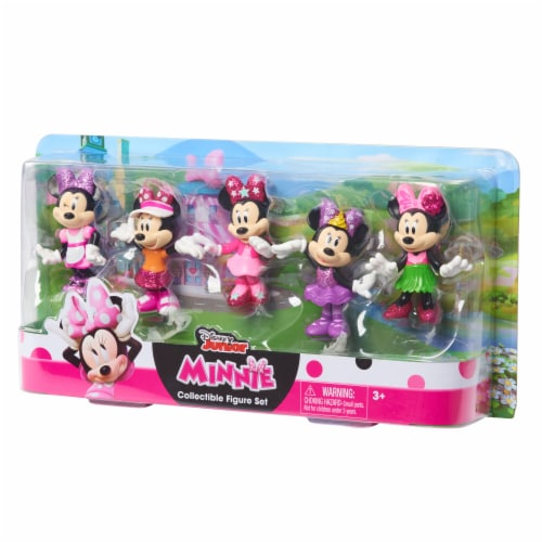 Disney Junior Minnie Collectable Figure Set Perspective: front