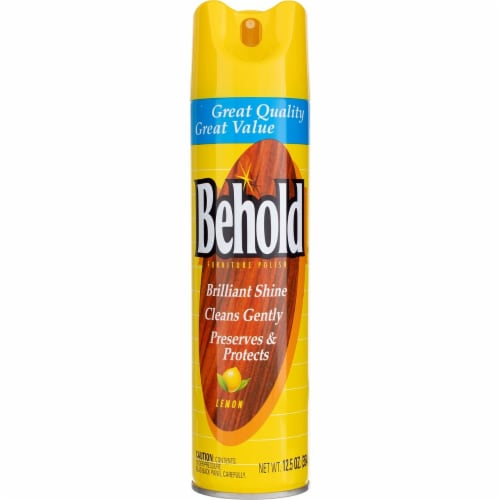 Behold Lemon Furniture Polish Perspective: front