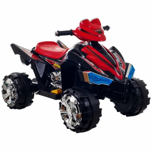Trademark Poker 80-CH917 Lil' Rider Pro Circuit Hero 4 Wheeler - Sound Effects Perspective: front