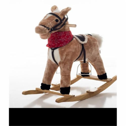 Happy Trails Dusty the Rocking Horse Perspective: front
