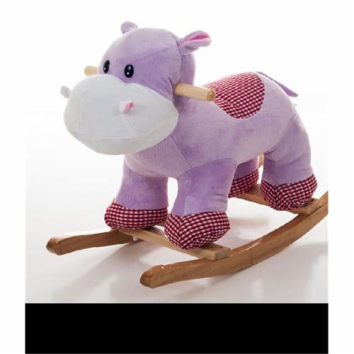 Happy Trails Henrietta the Rocking Hippo Perspective: front