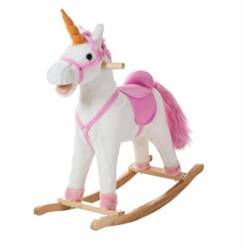 Happy Trails Bella the Rocking Unicorn Perspective: front