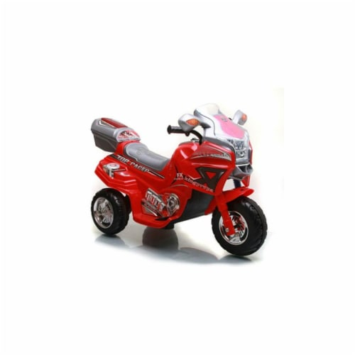 Lil Rider Top Racer Sport Bike - Red Perspective: front