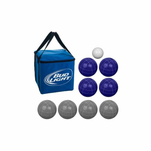 Bud Light Bocce Ball Set - Regulation Size Perspective: front