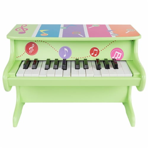 Hey Play 80-GD-2211 25-Key Musical Toy Piano Perspective: front