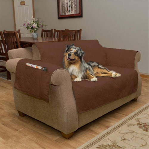 Petmaker 80-PET5077 100 Percent Waterproof Protector Cover for Chair Love Seat or Couch & Sof Perspective: front