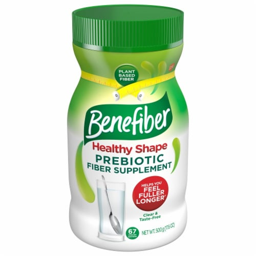 Benefiber Healthy Shape Prebiotic Fiber Supplement Perspective: front