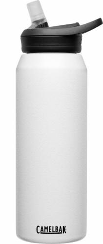 Camelbak Eddy+ Stainless Steel Bottle - White Perspective: front
