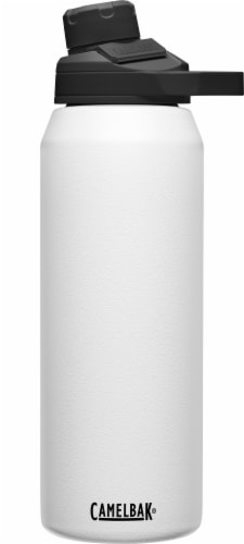 Camelbak Chute Mag Stainless Steel Bottle - White Perspective: front