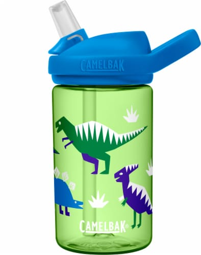 Camelbak Eddy+ Hip Dinos Kids Bottle Perspective: front