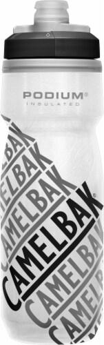 Camelbak Podium Chill Bottle - Gray/Black Perspective: front