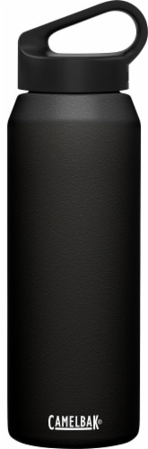 Camelback Carry Cap Vacuum Insulated Water Bottle - Black Perspective: front