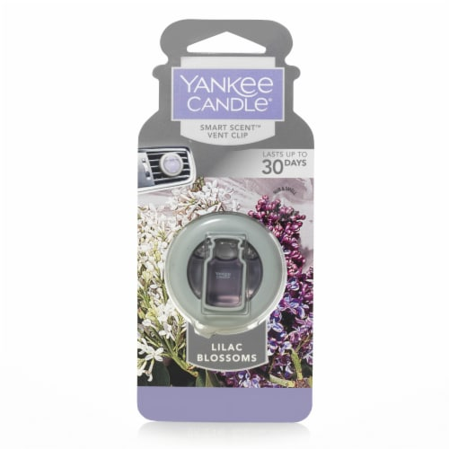 Yankee Candle Lilac Blossoms Smart Scent Vent Clip Perspective: front