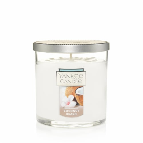 Yankee Candle® Coconut Beach Tumbler Candle - White Perspective: front