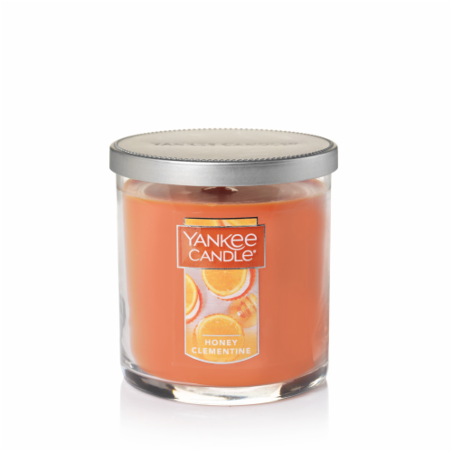 Yankee Candle® Scented Candle - Honey Clementine Perspective: front