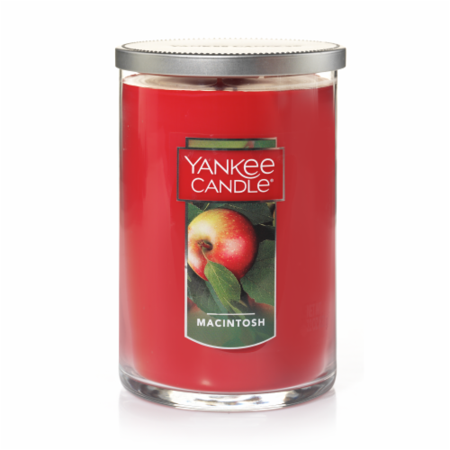 Yankee Candle Macintosh Jar Candle Perspective: front