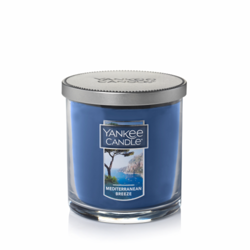 Yankee Candle Mediterranean Breeze Candle Perspective: front