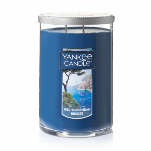 Yankee Candle Mediterranean Breeze Jar Candle Perspective: front