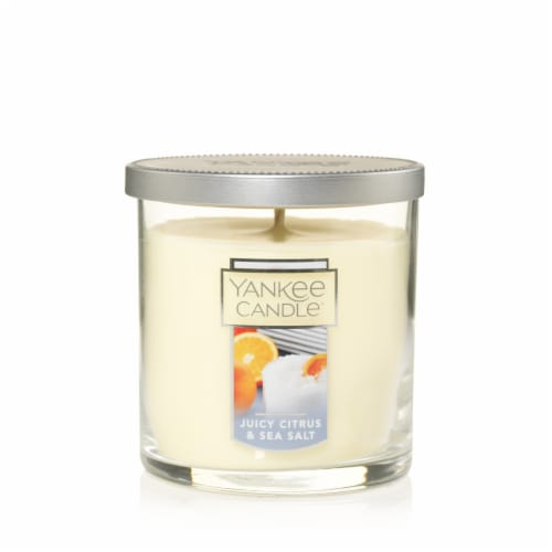 Yankee Candle Juicy Citrus & Sea Salt Jar Candle Perspective: front