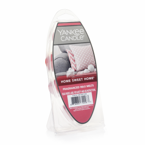 Yankee Candle Home Sweet Home Fragranced Wax Melts Perspective: front