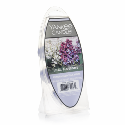 Yankee Candle Lilac Blossoms Fragranced Wax Melts Perspective: front